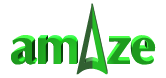 amAze Logo - go back to home page